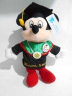 boneka wisuda mickey mini mouse bordir di baju 5